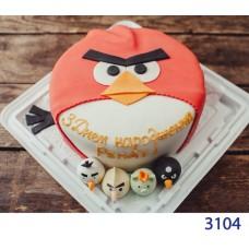 Фото Торт дитячий Angry Birds 3104