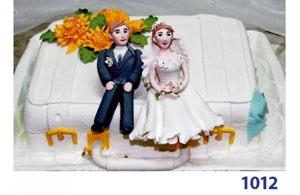 """Фото Торт весільний """"Медовий місяць"""""""