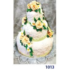 """Фото Торт весільний """"Медові троянди"""""""
