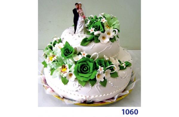"""Фото Торт весільний """"Травневі квіти"""""""